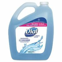 Dial Antimicrobial Foaming Hand Wash, Spring Water, 1 Gallon Bottle (DIA15922EA)
