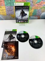 SHIPS SAME DAY Middle-earth: Shadow of Mordor Xbox 360 Complete 2 Disc Lotr
