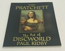 TERRY PRATCHETT THE ART OF DISCWORLD PAUL KIDBY SOFTCOVER
