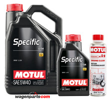 Aceite Motor Motul Specific BMW LL-04 5W40, Pack 6 litros+ Engine Clean