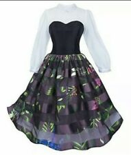 New Costume Disney Store Dx Sleeping Beauty Briar Rose Aurora Dress Womens Xs