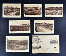 Civil War Photos x 7 - Forts & Batteries - Fort Burnham Casemate Virginia TN