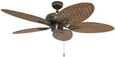 Harbor Breeze Tilghman II 52-in Bronze Indoor/Outdoor Downrod Mount Ceiling Fan