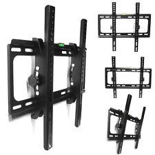"""Tilt LCD LED Slim TV Wall Mount Bracket 26 30 32 38 40 46 50 52 55"""" For LG Sony"""