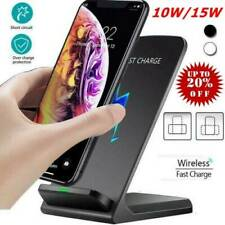 15w Qi Wireless Fast Charger Charging Stand-Dock For Samsung iPhone 11 XS 87