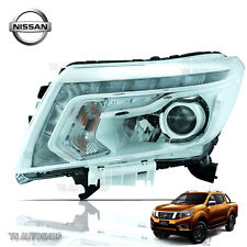 Left Lh Front Head Lamp Light Drl Led Fits Nissan Navara D23 Np300 2015 2017