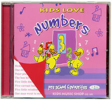Kids Love Numbers CD Pre school counting song favourites.  NEW from PUBLISHER