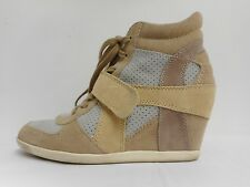 Gorgeous Ash ankle boots wedge 'Bowie' suede leather brown grey pink 39 UK6