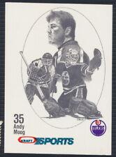1986-87 Kraft Sports Hockey Card Andy Moog