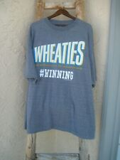 "Men's Wheaties T-Shirt Vintage Cereal Logo ""Breakfast of Champions"" Size 4X"