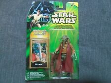 Star Wars Figure Power of the Jedi Ketwol with Jedi Force File- Hasbro