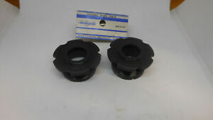 NOS Campagnolo Veloce Cartridge Flanged Cups for 1993 bottom bracket ENG black