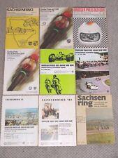 9 Stück Saxony Ring Sachsenring-Rennen 1975-1983 Hohenstein Ernstthal Collection