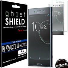 1x TECHGEAR (TPU) FULL COVERAGE Screen Protector Cover Sony Xperia XZ Premium