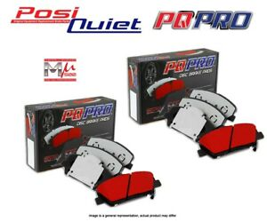 [FRONT+REAR SET] POSI QUIET PQ Pro Disc Brake Pads ROADSIDE ASSISTANCE PQ96850