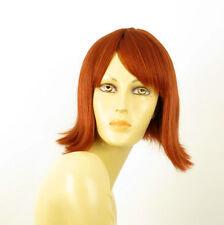 wig for women 100% natural hair copper intense ref  ZOLA 130 PERUK