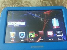 Sylvania 4 Gb Video Player with 4.3 Inch Touch Screen Blue Smpk4000 Used .