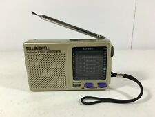 Bell & Howell MW.SW1-7 9 Band Receiver Radio Gold