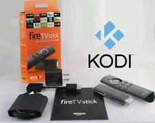 Amazon Fire TV Stick 2nd Gen  KODI 17.6 & Mbdro TV Quad Core -Alexa voice remote