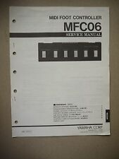 Yamaha Midi Foot Controller MFC06 Service Manual