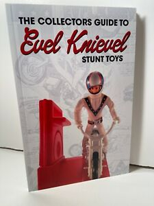 Vintage Evel Knievel Stunt Cycle Collectors Guide Book to EK Figures and Toys
