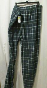 Men's Croft & Barrow sleep lounge pants Size XL Green Plaid (2-339/B6
