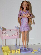 Barbie Puppe Happy Family Midge Schwanger pregnant mit Baby, Wie Neu!!