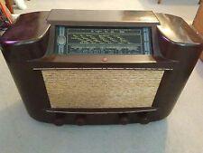 Vintage Art Deco Period Bakelite Valve Radio Phillips Type 170A/15