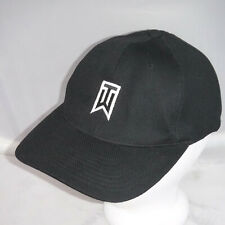 Tiger Woods Nike Golf Black Breathable Hat Cap sz M/L