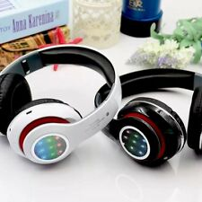 Wireless Stereo MP3 Headphone Bluetooth Mic Earphone Game Headset With LED Light
