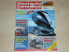 59677) Setra Multiclass - Volvo FH Lastauto Omnibus 02/2006