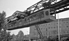 Original Negative Schwebebahn H-Bahn WSW Wuppertal #2 Deutschland Germany 1970s