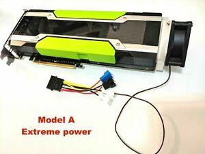 GPU Cooler with High-speed Fan forNvidia Tesla K80 P100 V100 Passive Cooling