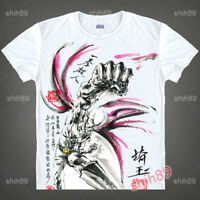 Anime ONE PUNCH-MAN Saitama Short Sleeve T-shirt Unisex Tops Ink Print