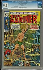 Sub-Mariner #25 CGC 9.6 WHITE PAGES Sal Buscema