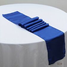 15x Royal blue table runners Wedding Anniversary Banquet Party Ceremony Decor