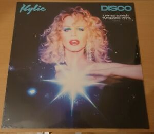 Kylie Minogue Disco Turquoise Vinyl  Limited Edition Rare New & Factory Sealed