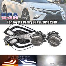LED Daytime Running Fog Light Controller Kit For Toyota Camry SE/XSE 2018 19 20