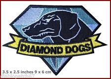 Iron on Fox Hound Diamond Dogs Metal Gear Solid Big Boss Snake MGS  patch