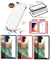Samsung Galaxy Note 10 /PLUS Clear Hybrid Rubber Armor Protective TPU Case Cover