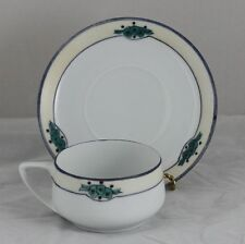 Cup Saucer Set Royal Antoinette Czechoslovakia Signed