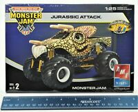 2004 AMT Ertl Jurassic Attack Monster Jam Truck 1:25 Model Kit  RARE/NEW/SEALED