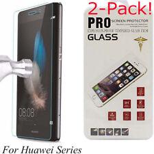 Protecteur d'écran en verre trempé For Huawei P8 P9 P10 P20 Pro Lite Honor 7 8 9