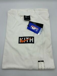 Kith X Nike For New York Knicks  S/S Tee White Size Large