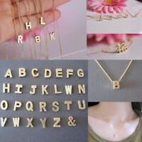 Colgante Collar Cadena Letra Alfabeto necklace gargantilla Señora Regalo