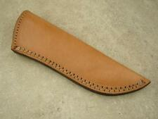 """Custom Light Brown Leather Sheath-Fits 5"""" to 6"""" Long Blade / 6"""" to 10"""" Knife-006"""