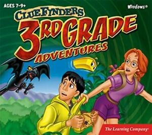 ClueFinders 3rd Grade  Math Science Reading Problem Solving Grammar  New