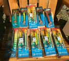Luhr Jensen Classic Wood Lures (188 lures total) WoodChopers & Amazon Rippers