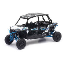 Polaris RZR XP 4 Turbo EPS 1:18 Side X Side SXS White Lighting by New Ray 57843B