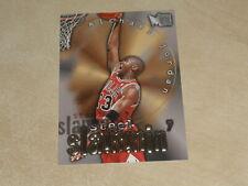 1996-97 Fleer Metal Steel Slammin' #6 Michael Jordan